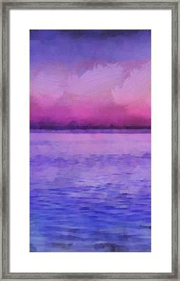 Ocean 8 Framed Print