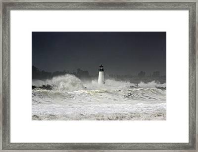 Ocean A Fury Framed Print