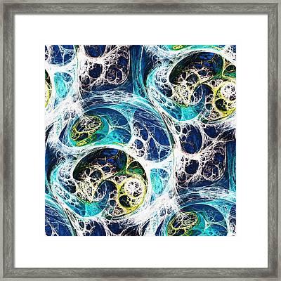 Ocean Framed Print by Anastasiya Malakhova