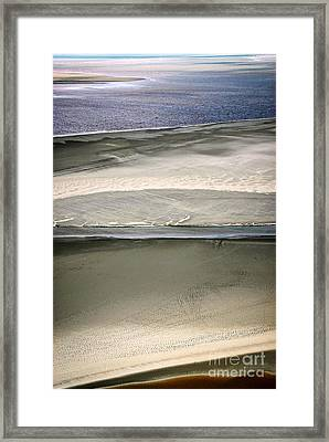 Ocean At Low Tide Framed Print