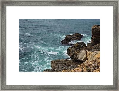 Ocean Below Framed Print