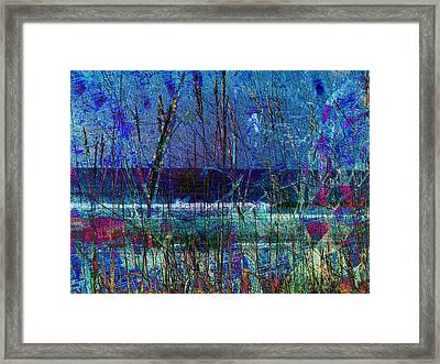 Ocean Blue Framed Print