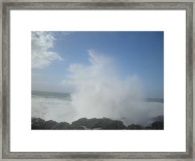 Ocean Boon Framed Print