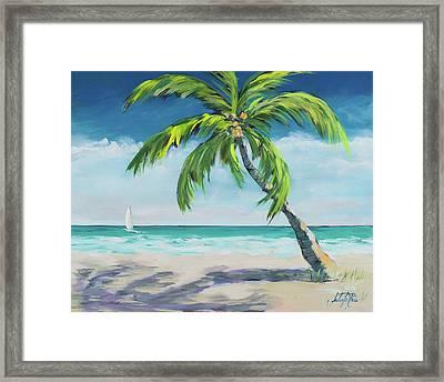 Ocean Breeze I Framed Print