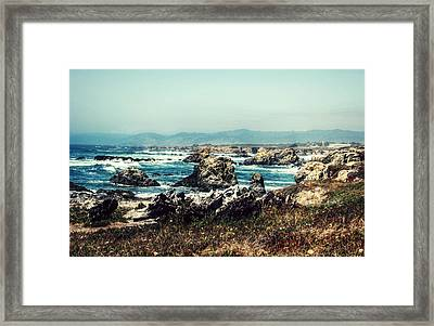 Ocean Breeze Framed Print by Melanie Lankford Photography