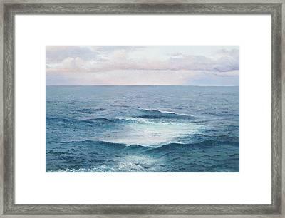 Ocean By Jan Matson Framed Print