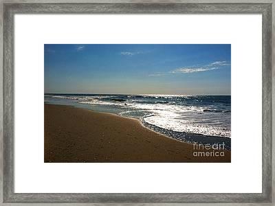 Ocean City Morning Framed Print