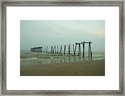 Ocean City's 59th Street Pier Framed Print