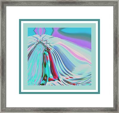 Ocean Deco - Ticker Symbol Jamn 7/5/2011 To 8/1/2011 Framed Print
