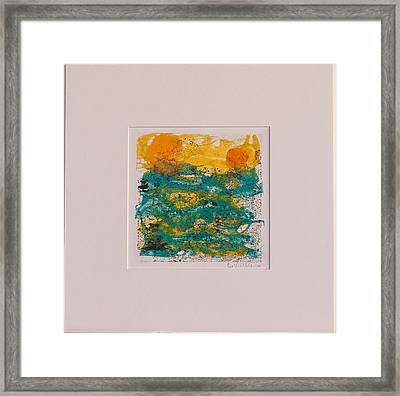 Ocean Dreams Framed Print