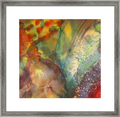 Ocean Eight Framed Print by Beverly Johnson