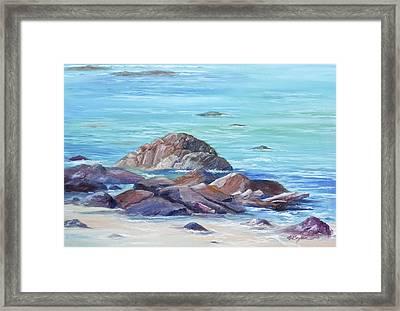 Ocean Emotion #3 Framed Print