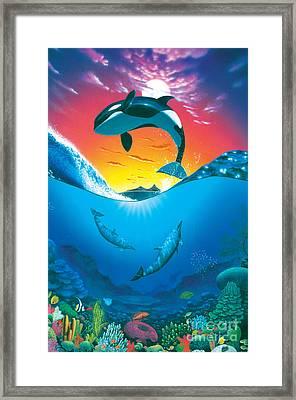 Ocean Freedom Framed Print