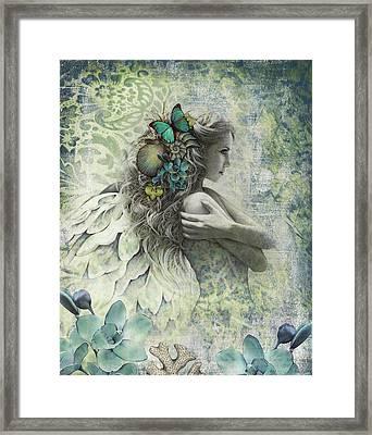 Ocean Garden Framed Print