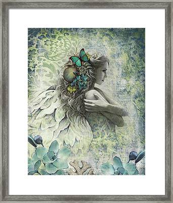 Ocean Garden Framed Print by Jessica Galbreth