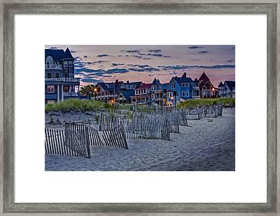 Ocean Grove Asbury Park Nj Framed Print by Susan Candelario