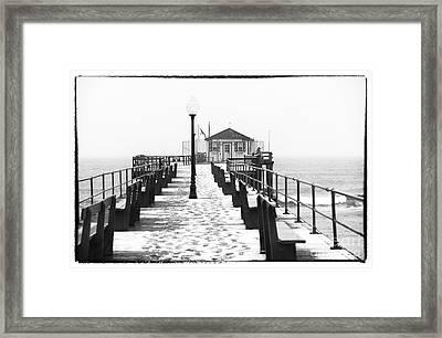 Ocean Grove Fishing Club Framed Print by John Rizzuto