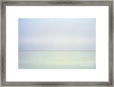 Ocean Horizon Framed Print by John Greim
