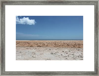 Framed Print featuring the photograph Ocean Horizon by Todd Blanchard