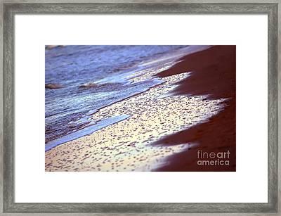 Ocean In Sunshine Framed Print by Michal Bednarek