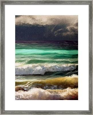 Ocean Framed Print by James Shepherd