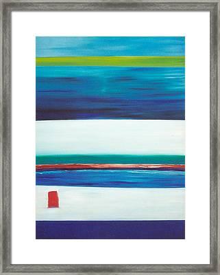Ocean Journey Framed Print