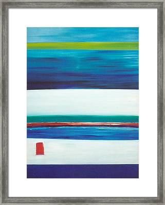 Ocean Journey Framed Print by Phoenix De Vries