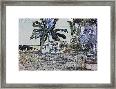 Ocean Kayacks Framed Print