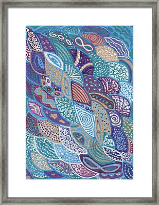 Ocean Life Framed Print by Sri Devi