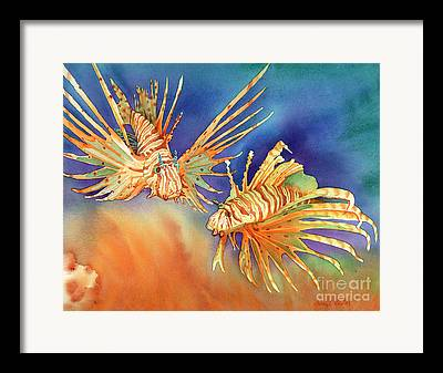 Two Fish Framed Prints
