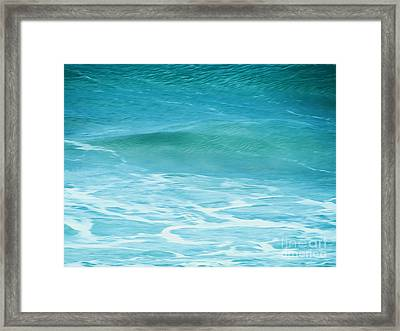 Framed Print featuring the photograph Ocean Lullaby by Roselynne Broussard