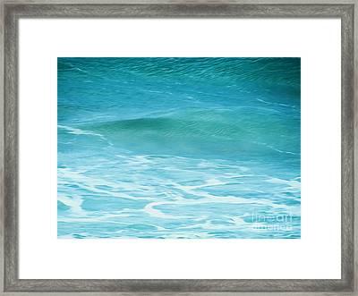 Ocean Lullaby Framed Print