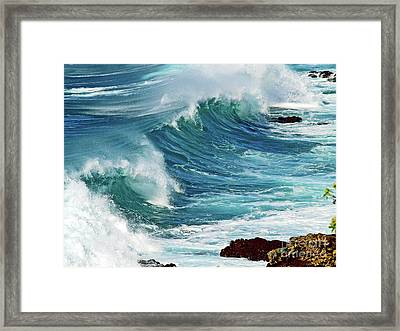 Ocean Majesty Framed Print