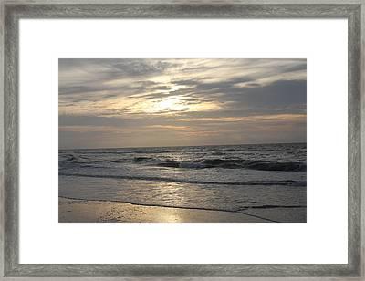 Ocean Mood Framed Print by Vadim Levin