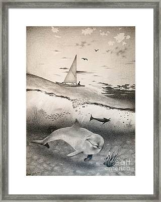 Ocean Morning Framed Print