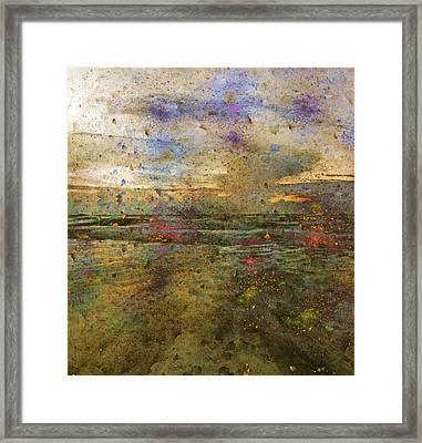 Ocean Morning I  Framed Print by Betsy Knapp