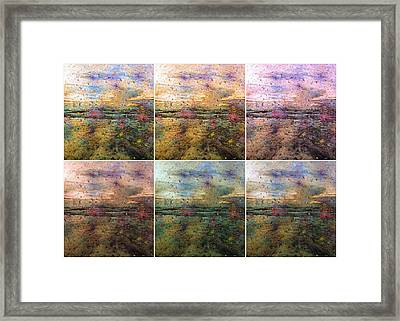 Ocean Morning V Framed Print by Betsy Knapp