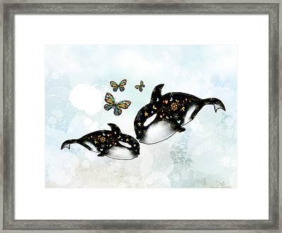 Ocean Of Love Framed Print by Karin Taylor