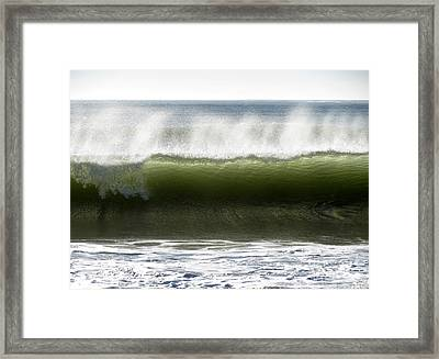 Ocean Palette Framed Print by Gayle Swigart