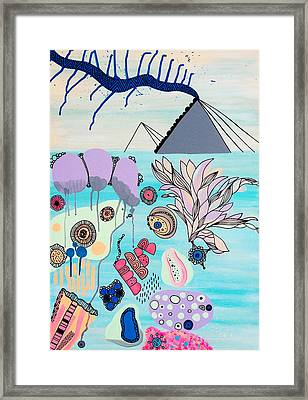 Ocean Parade Framed Print by Susan Claire