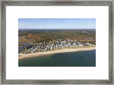 Ocean Park, Saco Framed Print by Dave Cleaveland
