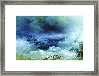 Ocean Framed Print by Pg Reproductions