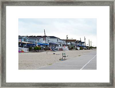 Ocean Promenade Sugar Bowl To Reid Summer 2012 Framed Print