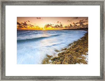 Ocean Retreat Framed Print by Sebastian Musial