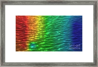 Ocean Ripples Framed Print