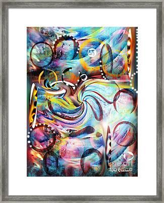 Ocean Run Framed Print by Yul Olaivar