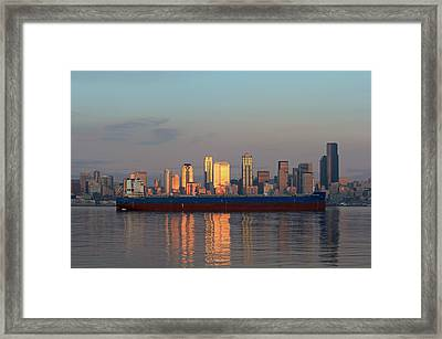 Ocean Scorpio  Framed Print