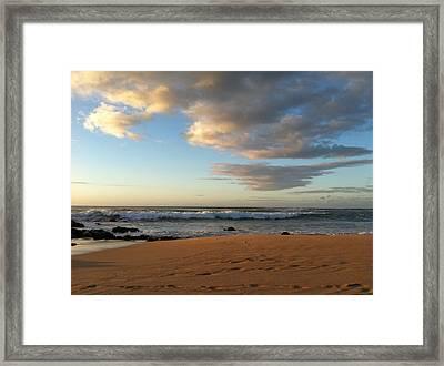 Ocean Serenity Framed Print