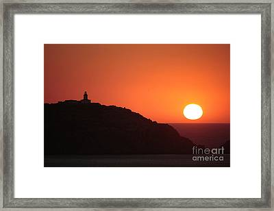 Ocean Sunset #2 Framed Print