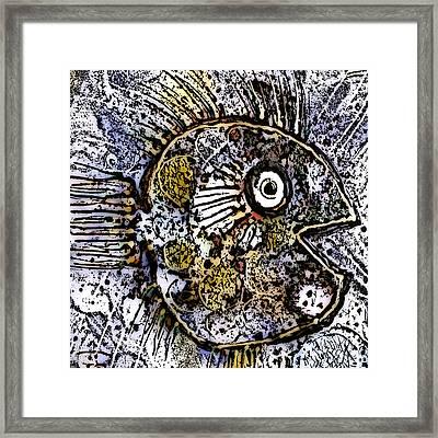 Ocean Sunfish Framed Print